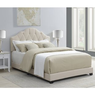 Body Camelback Upholstered Panel Bed