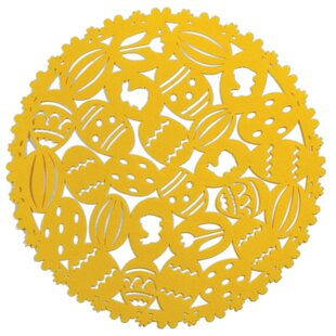 Eggs Round Placemat (Set of 4)