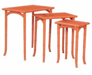 Bay Isle Home Fieldsboro 3 Piece Nesting Tables