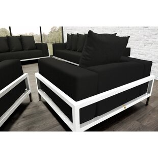 Tilly Patio 4 Piece Sofa Set With Cushions