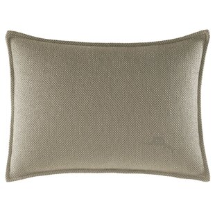Raffia Palms Herringbone Weave Lumbar Pillow by Tommy Bahama Bedding
