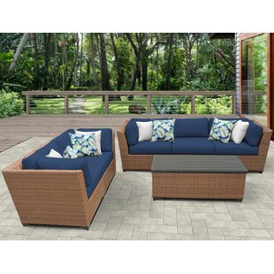 Rosecliff Heights East Village 6 Piece Sofa Set with Cushions