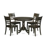 Artin Rubberwood Solid Wood Dining Set by Andover Mills™