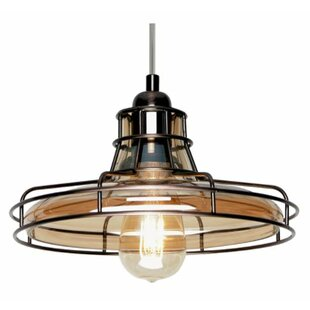 Breakwater Bay Ebbert 1-Light Cone Pendant