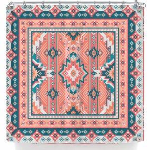 East Urban Home Nandita Singh Dreamy Aztec Shower Curtain