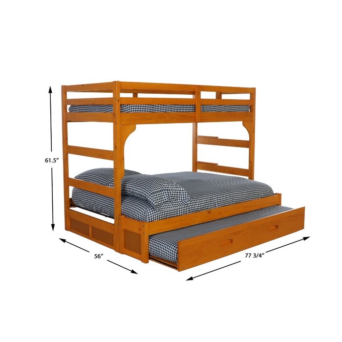 Hermitage Twin Over Full Bunk Bed With Trundle