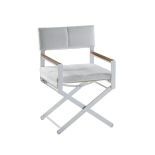 Ricky Director's Arm Chair with Cushion by Brayden Studio