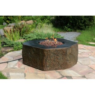 Homestyle Collection Columbia Concrete Fire Pit Table