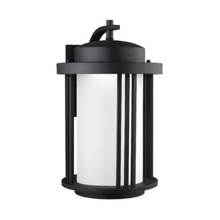 Searching for Dunkley 1-Light Outdoor Wall Lantern By Darby Home Co