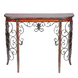 Devan Wooden and Metal Console Table