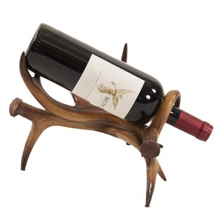 Manzo Faux Antler Tabletop Wine Rack by U..