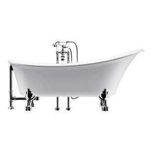 Price comparison Dorya 69 x 30 Freestanding Soaking Bathtub ByA&E Bath and Shower