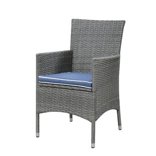 Morecambe Patio Dining Chair with Cushion (Set of 3)