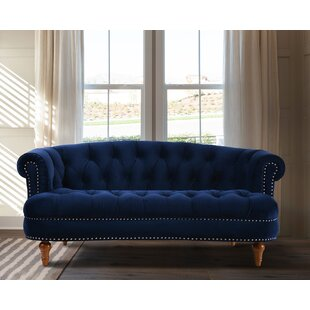 Affordable Mowry Chesterfield Loveseat by House of Hampton Reviews (2019) & Buyer's Guide
