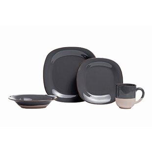 Roundtree 16 Piece Dinnerware Set, Service for 4