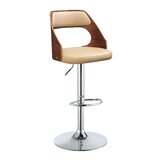 Rushton Swivel Adjustable Height Bar Stool by Corrigan Studio®