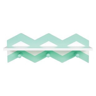 Coupon Evgenii Chevron Wall Accent Shelf By Harriet Bee