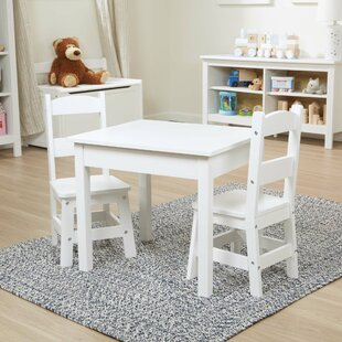 Kids 3 Piece Writing Table and Chair Set by Melissa & Doug