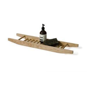 Badewannenablage Studio aus Holz von Wireworks