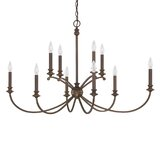 Alexander 10-Light Candle Style Tiered Chandelier