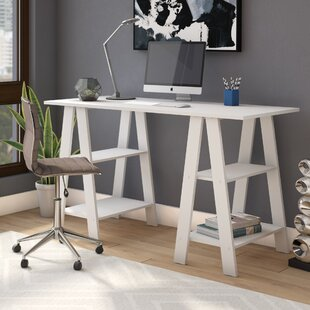 Adalyn Sawhorse Writing Desk by Zipcode Design Today Only Sale