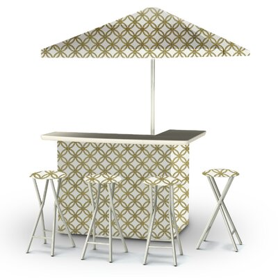 6 Piece Patio Bar Set by Best of Times Bargain