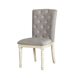 Briony Transitional Upholstered Dining Chair (Set of 2)