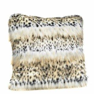 Signature Series Mink Faux Fur Throw Pillow