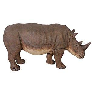 Design Toscano Grand-Scale Rhinoceros Statue