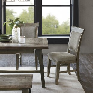 Casimir Upholstered Dining Chair (Set of 2) Gracie Oaks