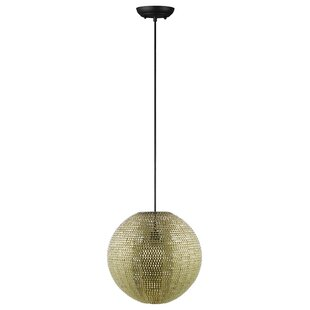 Nowell 1-Light Pendant by Bloomsbury Market