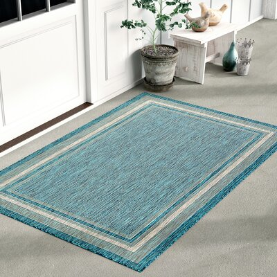 Blue Outdoor Rugs You Ll Love In 2019 Wayfair