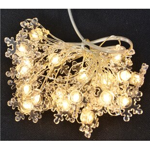 Fantastic Craft 5' Snowflake Copper Wire 20 Light Fairy String Lights