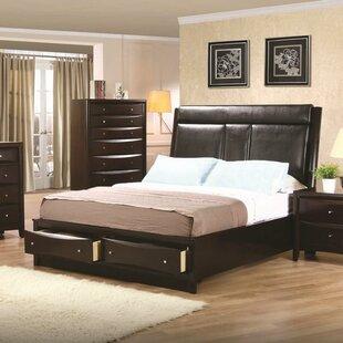 Winston Porter Deeanna Upholstered Storage Platform Bed