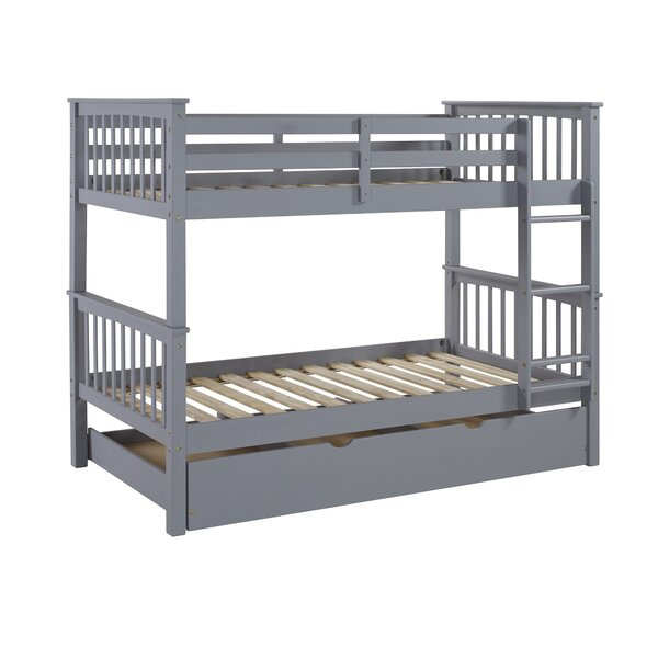 Callam Twin Over Twin Bed With Trundle Reviews Allmodern