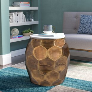 Kupang End Table by Mercury Row
