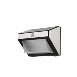 Aenwood LED Solar Outdoor Wall Lantern With Motion Sensor Image