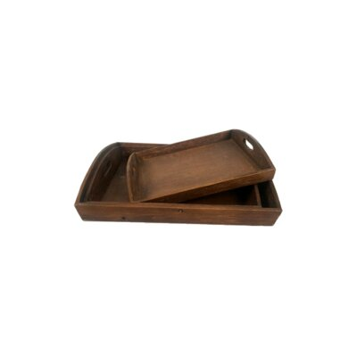 Shrader Wood Serving Tray Breakwater Bay Size 2 H X 11 W X 9 D From Breakwater Bay Ibt Shop