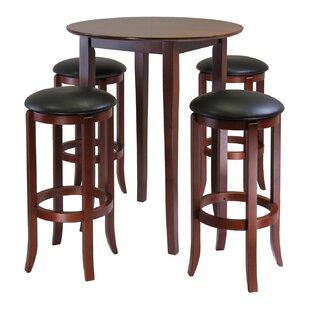 High Kitchen Table Set Wayfair