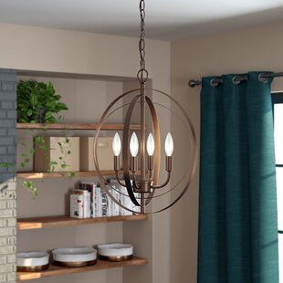 Gurney Slade 4-Light Chandelier