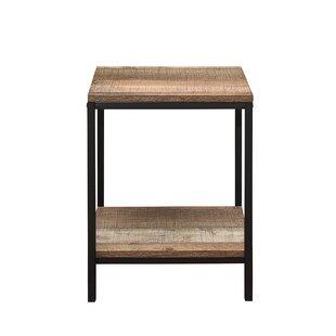 Black wire side table wayfair amesbury side table greentooth Gallery
