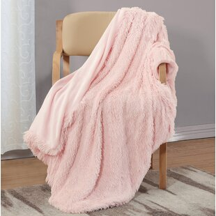 Hagan Posh Shaggy Throw