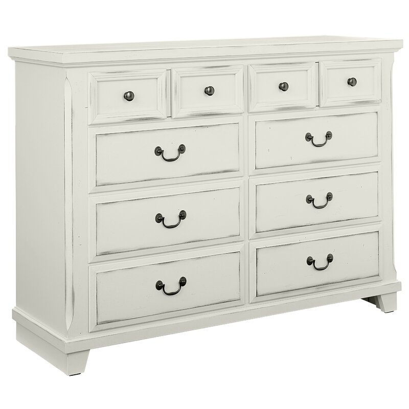 Hanscom 10 Drawer Double Dresser