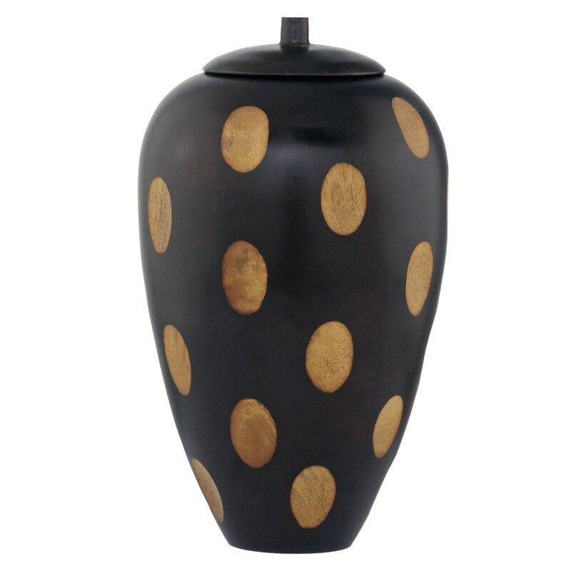 Covered Decorative Urn