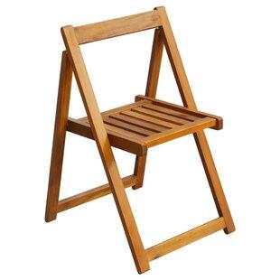 Kilgraston Wood Children's Folding Outdoor Chair (Set Of 2) By Harriet Bee