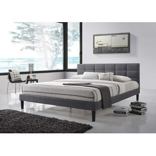 Mcadams Tufted Upholstered Platform Bed by Mercury Row