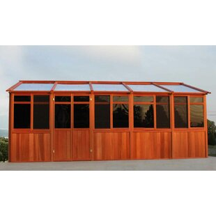 Westview Manufacturing Solchalet 13 Ft. W x 20.5 Ft. D Solid Wood Patio Gazebo