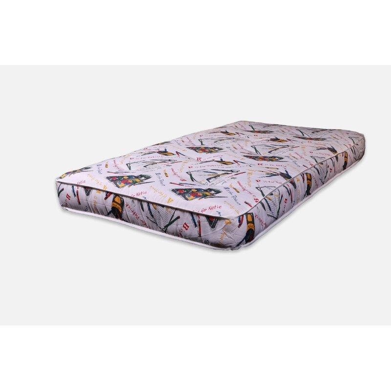 "Alwyn Home Twin 6"" Medium Fibre Foam Pad Mattress & Reviews | Wayfair"
