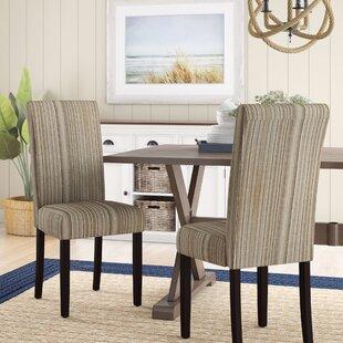 Beachcrest Home Vaughn Parsons Chair (Set of 2)