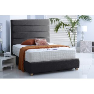 Clover Upholstered Bed Frame By Brayden Studio